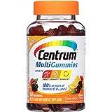 Centrum - MultiGummies为成人自然樱桃、莓果&桔子 - 150 软糖