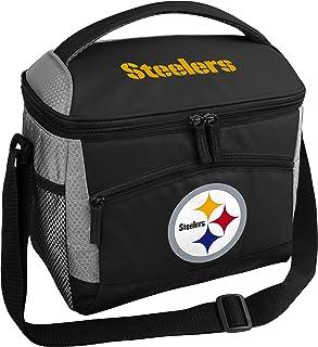 Rawlings NFL 软面保温保冷袋,12 罐容量,匹兹堡钢人队
