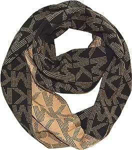 Michael Kors 迈克高仕 女式徽标 Infinity 环形围巾