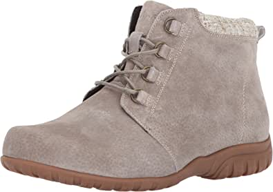 Propét 女式 delaney 及踝短靴搭扣 沙砾色 11 2A(N) US
