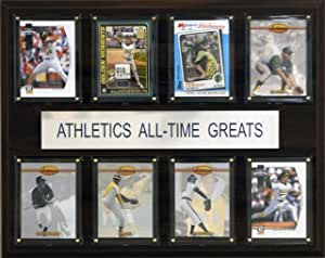 MLB Oakland Athletics All-Time Greats Plaque