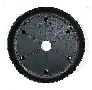 垃圾处理防溅罩/水槽挡板,适合绝缘者处置和大多数通用的 8.89cm 水槽。 尺寸 3 1/4 英寸