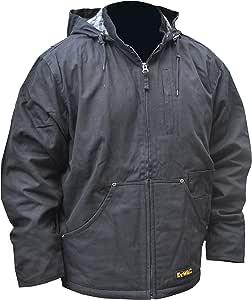 DEWALT DCHJ076D1-L 重型加热工作夹克,L 码,黑色