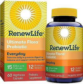 Renew Life Ultimate Flora每日益生菌- 150億- 60粒蔬菜膠囊
