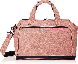 [anello]波士顿包 口袋 木纹粗棉布风格 扩张波士顿