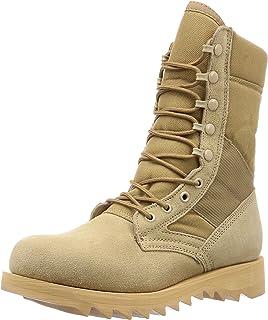 [ROSSCO] 长靴、军靴 G.I. Type Desert Tan Ripple Sole Jungle Boots (5058 宽幅)