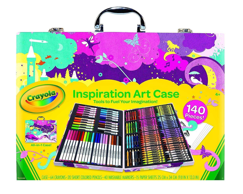 Crayola 绘儿乐灵感画笔套装-粉色