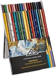 Prismacolor Premier Verithin 彩色铅笔,各种颜色,36支铅笔,一盒(2428)