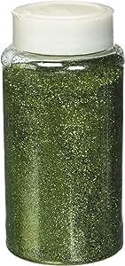 Homeford 精美闪光奶瓶,1 磅散装 淡绿色(Sage Green) 6-1/4-Inch FNS000001180SAGE