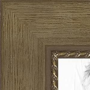 """画框金色 带凹凸板 3.18 cm 宽 金色 14 x 21"""" 2WOMTM310-333-14x21"""