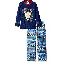 bunz Kidz 男孩圣诞丑毛衣2件睡衣套装