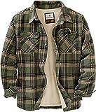 Legendary Whitetails 男士鹿野营羊毛内衬法兰绒衬衫夹克