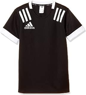 [阿迪达斯] 儿童橄榄球服 儿童用三条纹 运动衫 [3-Stripes Jersey](FXU52) 男孩