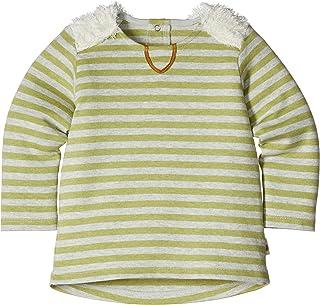 Hoppetta plus 有机棉条纹T恤 绿色 80