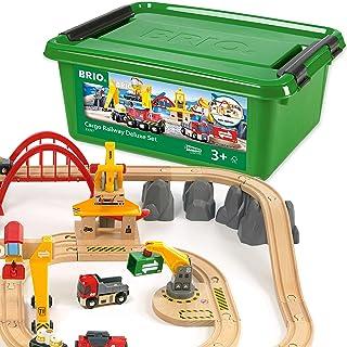 BRIO 世界货运铁路豪华玩具套装