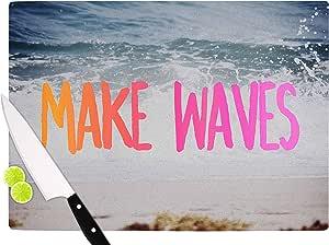 "KESS InHouse Chelsea Victoria""Make Waves""粉色摄影切割板,29.21cm x 40cm,多色"