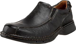 Clarks 男式 Unstructured Un.Seal 一脚蹬休闲鞋