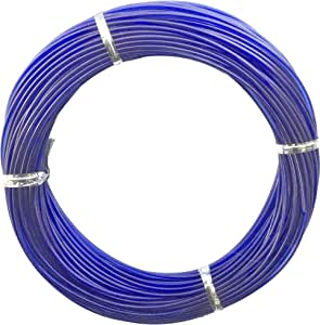 Black Marine OL-011 Outrigger Line Replacement Kit, 100-Foot Spool, 400-Pound Test, Blue Finish
