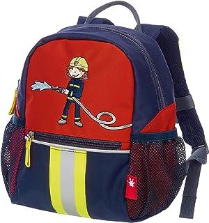Sigikid Rucksack Klein Frido 消防员儿童背包 25 厘米 红色(蓝色/旋转)