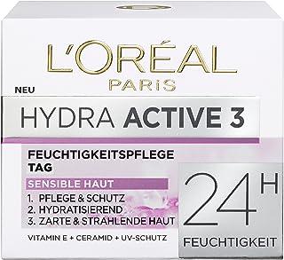 "L'Oreal Paris Dermo Expertise""Hydra Active 3"" Hydrafresh 奶油,适用于干和敏感肌肤,50 毫升"