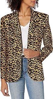 Norma Kamali 女士单排扣夹克 (20)