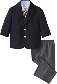 Nautica Baby Boys' Poplin Duo Set, Navy
