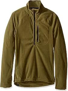 adidas 户外男式 Reachout 1/2 拉链羊毛套头衫 XX-L 绿色 AZ7017