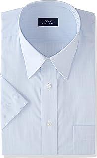 [弯曲日本]8尺码 吸水速干 蓝色 形态稳定 短袖 男士