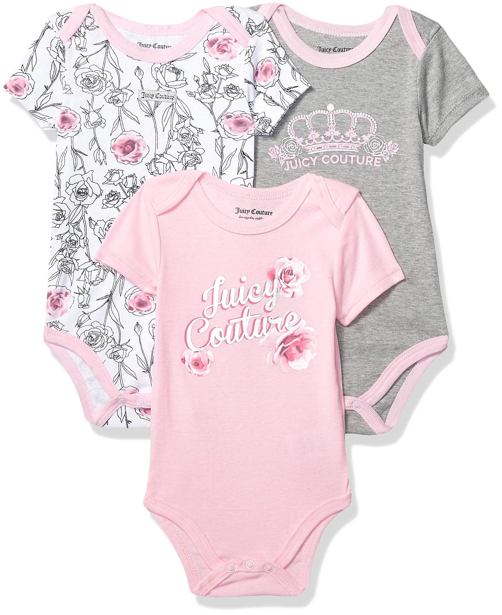 Juicy Couture 女婴连体衣 3 件套