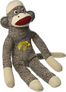 比赛日服装,NCAA 爱荷华鹰眼队毛绒袜子猴子,均码,多色