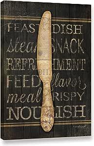 ArtWall Jennifer Pugh's 刀画廊包边帆布画 16x24 3pug068a1624w