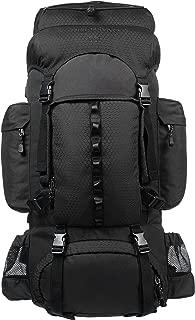 Amazon基本款 内部骨架徒步背包 附带雨燕 55L 黑色