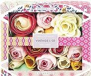 Vintage & Co 面料和花香皂花