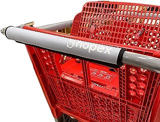 Shopex 购物车提手套,购物车提手和手推车提手套 | 适用于成人、婴儿和环境 | 环保、可重复使用 | 40.64 cm 长