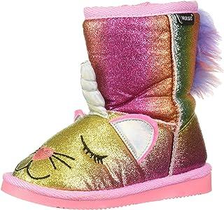 MUK LUKS 儿童 Averly Unikitten 靴子时尚