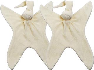 Cuski Miniboo 2 件装,Prem 婴儿盖被,用于 NHS(奶油色)