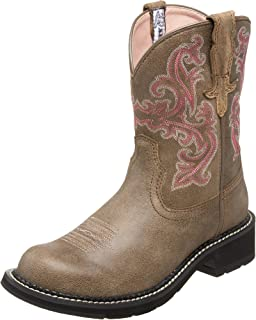 Ariat 女士 靴子 牛仔 mid-calf pull-on western-boots cowboy-boots Fatbaby II