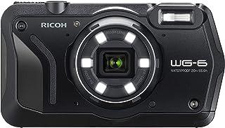 WG-6 20MP 水下數碼相機美國模型03843 僅攝像機 黑色