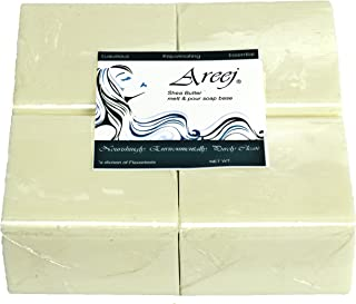 areej biodegradable 乳木果香皂 BASE 制造与甘油 – 2.3 kilogram