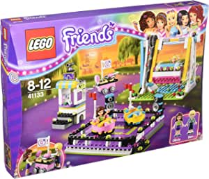 LEGO 乐高 Friends 系列 游乐场碰碰车 41133 8-12岁 积木玩具