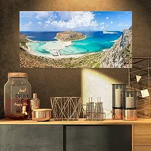 设计艺术 BALOS 海滩 AT 克里特岛岛希腊超大海滩油画艺术品