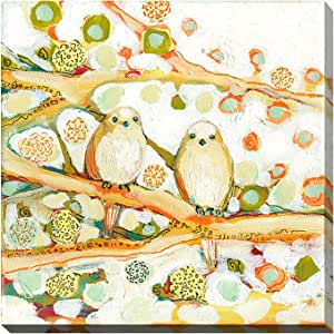 """Picture Perfect International 704-0947_2828 """"Together"""" by Jennifer Lommers Giclee Stretched Canvas Wall Art, 28"""" x 28"""" x 1.5"""""""