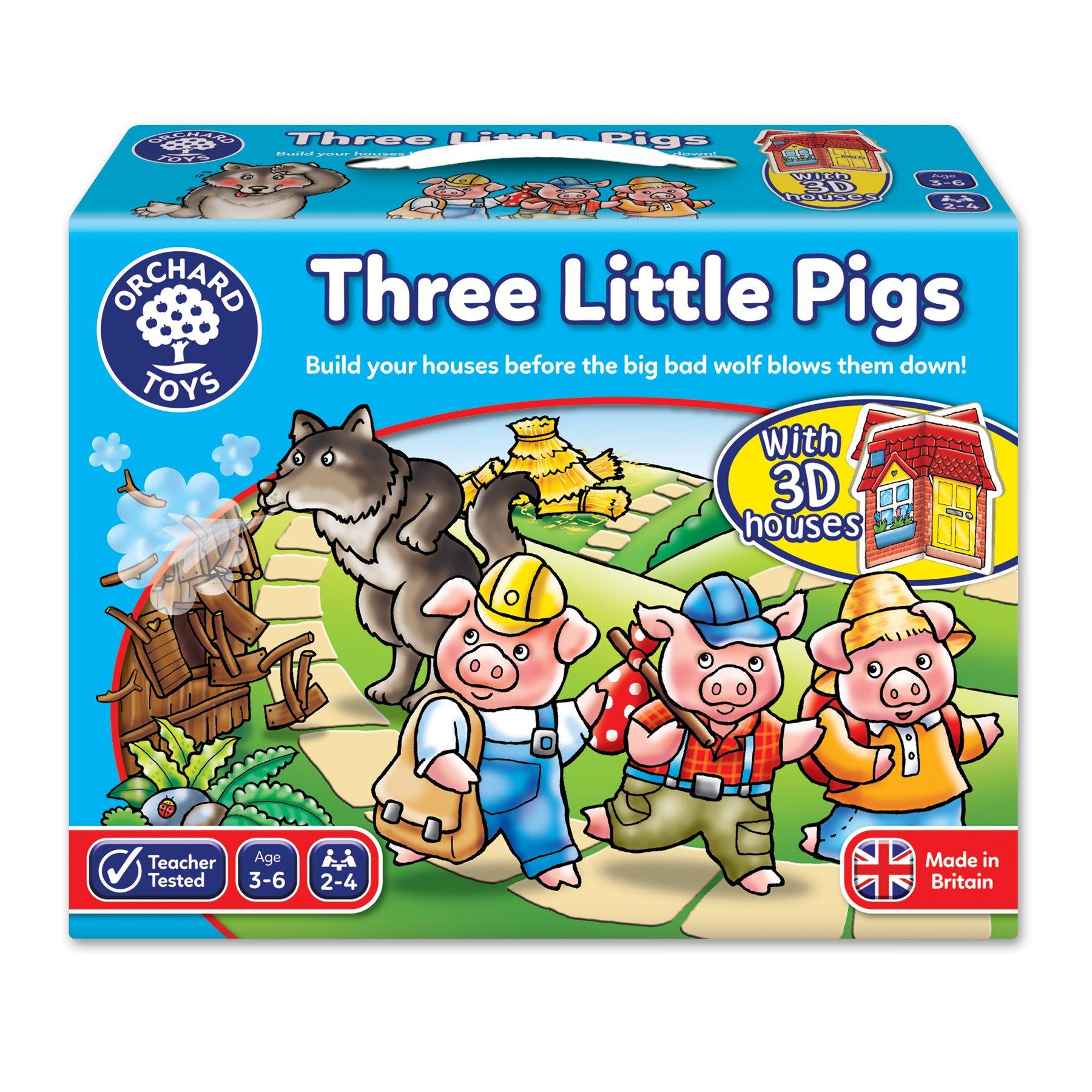 Orchard Toys 三只小猪绘本模型游戏