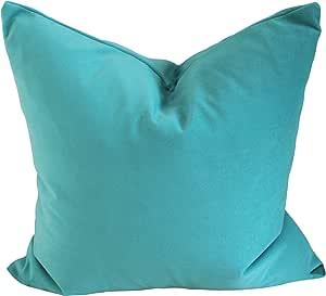 Golden Pillows 手工土耳其抱枕套 蓝绿色 14 x 24 Inch unknown