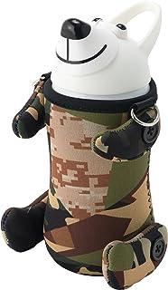 thermo mug  动物图案水杯(泰迪熊) 白色  5155TBC