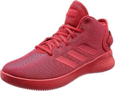 adidas NEO 阿迪达斯运动生活 男 休闲跑步鞋 CF REFRESH MID DA9669 浅猩红/浅猩红/浅猩红 40 (UK 7)