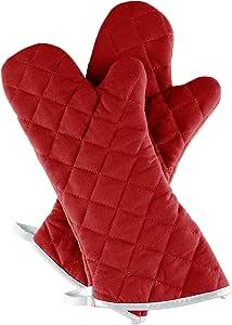 Lavish Home 烤箱手套 *红色 69-06-BU