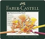 Faber-Castell 辉柏嘉 24 支 Polychromous 彩色铅笔 金属盒装