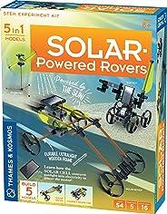 Thames & Kosmos 太阳能老虎 STEM 实验套件 | 组建 5 辆汽车和设备,由阳光供电 | 太阳能精华 适合 8 岁以上儿童