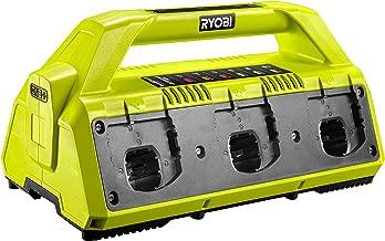 Ryobi RC18627 18 V 2.7 A ONE+ 6 端口電池充電器 - 超綠色/灰色